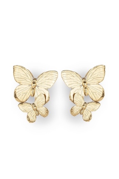 [RENTAL]Jennifer Behr[Papillon Earing Gold]