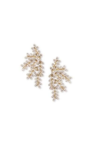 [RENTAL]Jennifer Behr[Vinessa Earring Crystal Antique Gold]