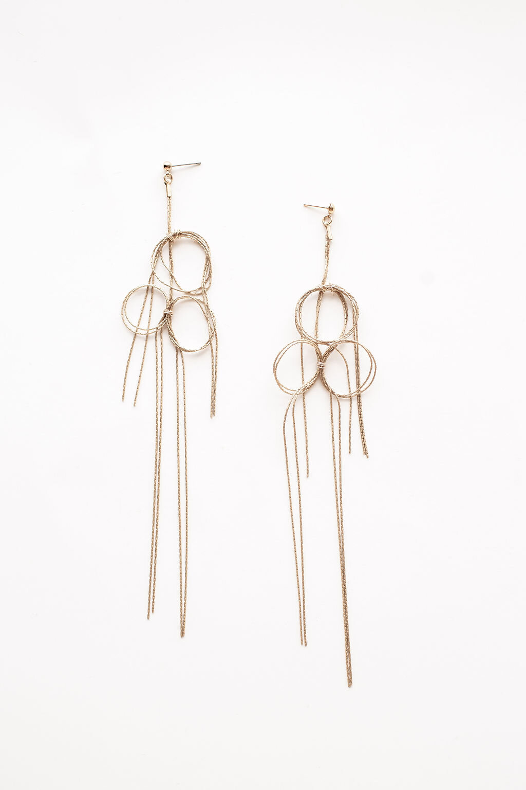 [SELL]A.B.ELLIE[Knot Strand Earrings]